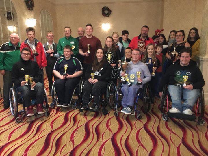 Ireland in the IWAS World Games Nov 30th